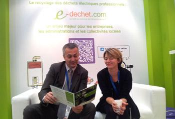 Pollutec Lyon 2012 - Sur le stand d'Ecologic