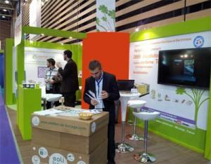 La Solibox sur le stand Ecologic à Pollutec 2012