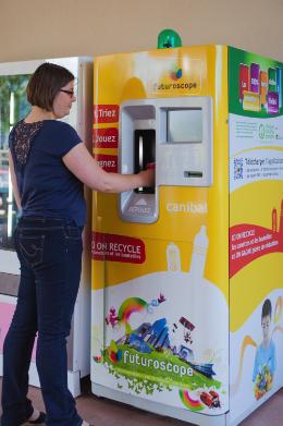 La machine Canibal à recycler les déchets